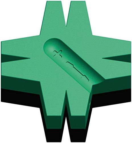 Wera 05073403001 Stjärna Magnetiserare/Demagnetiserare, Grön, 48 mm