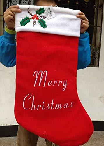 クリスマス 靴下 ラッピング袋 ギフトバッグ 収納袋 サンタくつ下 サンタクロース プレゼント/キャンディ/...