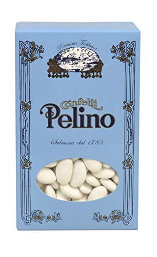 Confetti Pelino con Mandorla di Avola Extra Calibro 40 - 1 kg, 140 Unità