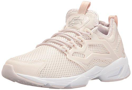 Reebok Damen Fury Adapt Graceful Modische Sneaker, Lila-Asche/Silbermet/Weiß, 36 EU