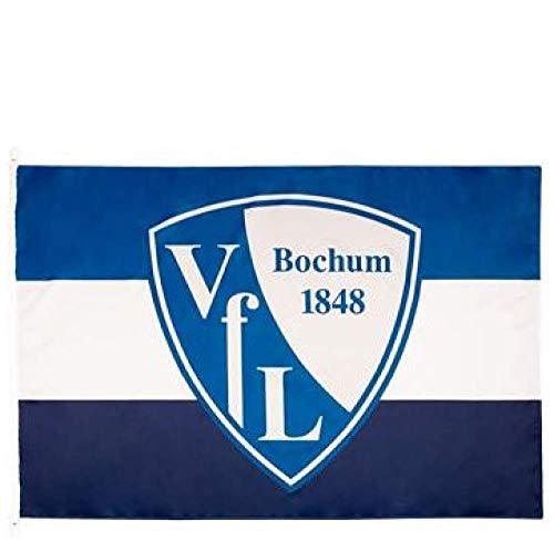 Flaggenfritze Hissflagge VFL Bochum 1848-100 x 150 cm + gratis Aufkleber