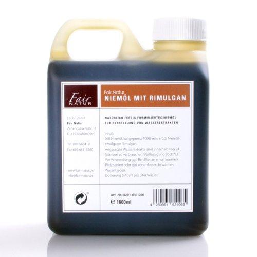 fair-natur (Neem) Niemöl & Emulgator Rimulgan 1ltr (24,97€/ltr)