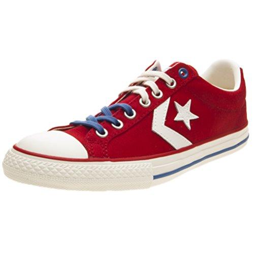 Converse Star Player EV Ox Rosso Sneakers Basse Scarpe Bambino 660963C 29