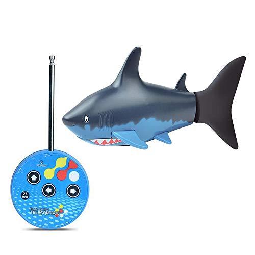 Lustige Mini Fernbedienung Shark Spielzeug Schwimmen Im Wasser Elektrische Rc Fische Können Spielzeug Für Kind Kinder Kleinkinder Geschenke