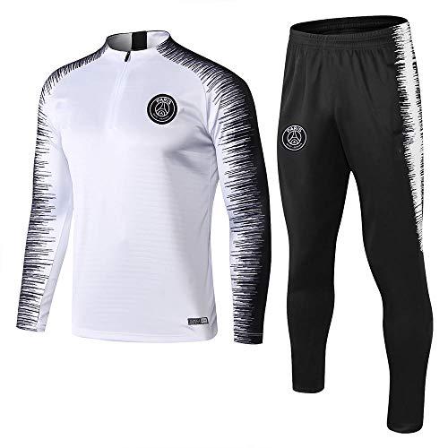 Conjunto de chándal y pantalón de fútbol para Hombre de Regalo Conjunto de Manga Larga para Adultos en @ Color_XL