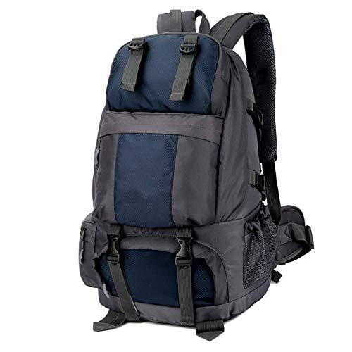 Z-LIANG Mochila for al Aire Libre Que va de excursión Viaje 50L Impermeable al Aire Libre se Divierte el Bolso con el Zapato gabinete Azul Oscuro/Bolsa de Viaje