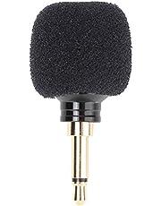Vbestlife Mikrofon do telefonu komórkowego 3,5 mm, mikrofon bezprzewodowy, mini przenośny mikrofon do nagrywania audio i wideo, odpowiedni na wykłady, zajęcia dydaktyczne, Karaoke, przewodnik turystyczny itp. (Mono)