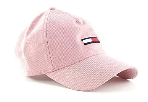 TOMMY HILFIGER TJW Flag Cap Washed Denim Botanical Pink