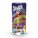 Juego Hasbro Gaming Jenga: Fortnite Edition, Juego de Torre apilable de Bloques de Madera para fanáticos de Fortnite, a Partir de 8 años