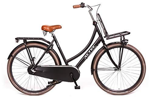 Altec Vintage 28 inch Transportfiets mat Zwart 57cm