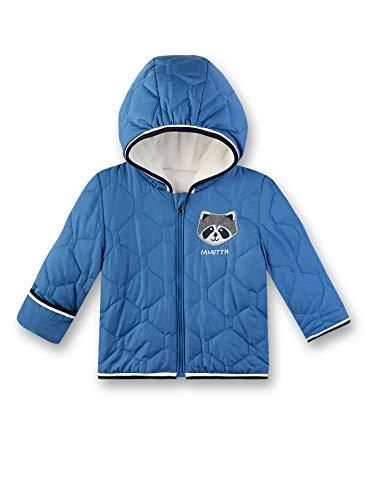 Sanetta Baby-Jungen Outdoorjacket Jacke, Blau (Delft 502), 74 (Herstellergröße: 074)