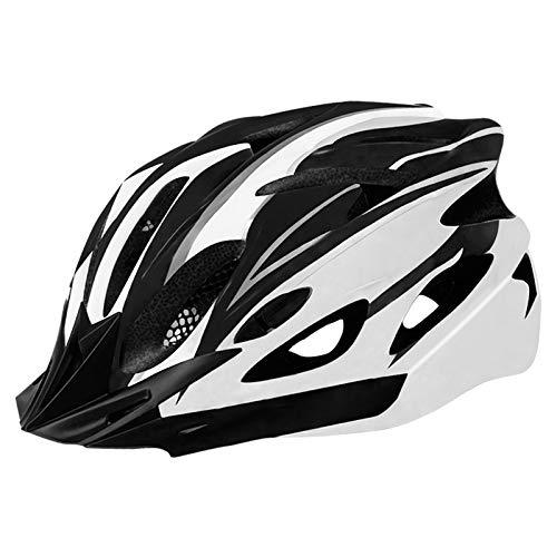 Casco de Bicicleta para Adulto Casco Ciclismo BMX Protector Ligero con Correa...