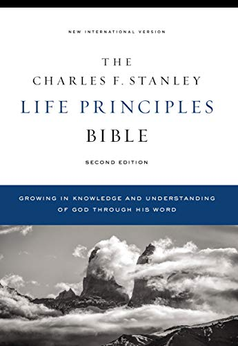 Compare Textbook Prices for NIV, Charles F. Stanley Life Principles Bible, , Hardcover, Comfort Print: Holy Bible, New International Version Second Edition ISBN 9780785225560 by Thomas Nelson,Stanley, Charles F.