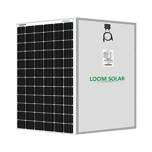 LOOM SOLAR Panel 395 watt - 24 volt Mono Perc (Pack of 2)