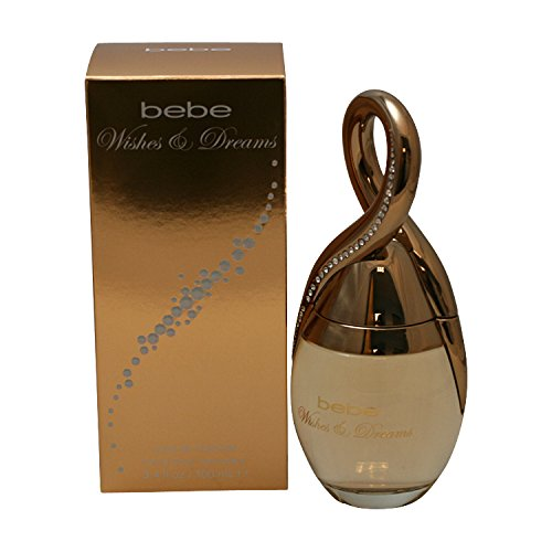 Bebe Wishes and Dreams Eau de Parfum Damen Spray , 3.4 Ounce