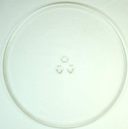 Mikrowellenteller / Drehteller / Glasteller für Mikrowelle # ersetzt FIF Mikrowellenteller # Durchmesser Ø 32,4 cm / 324 mm # Ersatzteller # Ersatzteil für die Mikrowelle # Ersatz-Drehteller # OHNE Drehring # OHNE Drehkreuz # OHNE Mitnehmer