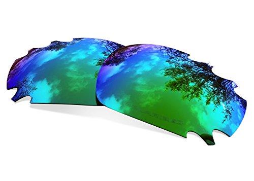 sunglasses restorer Kompatibel Ersatzgläser für Oakley Racing Jacket Vented, Polarisierte Sapphire Green