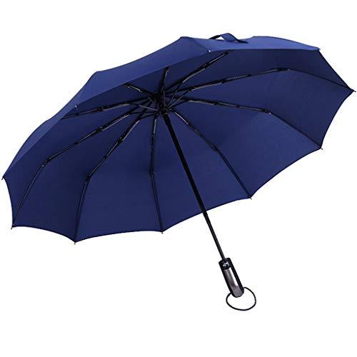 💋Committede💋Regenschirm sturmfest Schirm-Tasche & Reise-Etui - Taschenschirm mit Auf-Zu-Automatik, klein, leicht & kompakt, Teflon-Beschichtung, windsicher, stabil