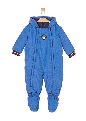 s.Oliver Baby-Jungen 59709852765 Schneeanzug, Blau (Blue Melange 55W6), 68