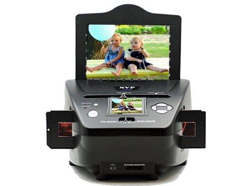 SVP PS9790 3-in-1 Digital Photo / Negative Films / Slides Scanner with built-in 2.4