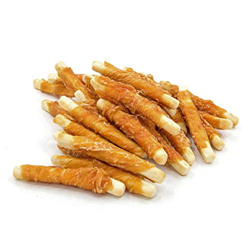 Jungle Calling Snacks Für Hunde, Hühnerfleisch Eingewickelte Fingerförmiger Keks, Molaren Snacks, Hochwertige Nahrungsmittel, 300 g