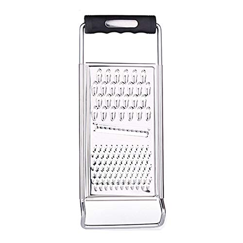 Stainless Steel Grater Zester Slicer, PASYOU Kitchen Multifunction Graters Ergonomic Soft Handle for Cheese Lemon Ginger Potato Vegetables Fruits Chocolate Micro Blade Razor Sharp Teeth Safe 1 Pack
