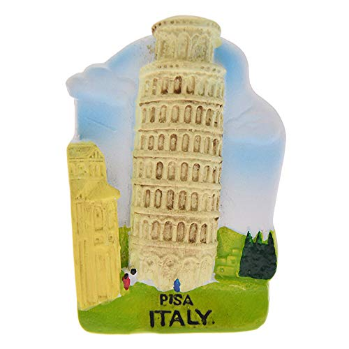 shenlanyu Fridge Magnets Leaning Tower Of Pisa Fridge Magnet Creative 3d Landscape Refrigerator Magnets Tourist Souvenirs Home Decoration