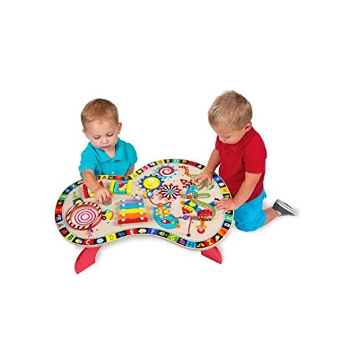 ADLIN Infantil Multifuncionales Juguetes Educativos del Bebé De Música Tabla Perlas De...