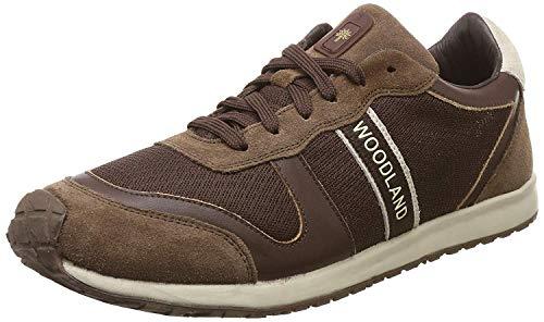 Woodland Men's Dirty Brown Leather Sneaker-9 UK/India (43 EU) (OGJ 1977116)
