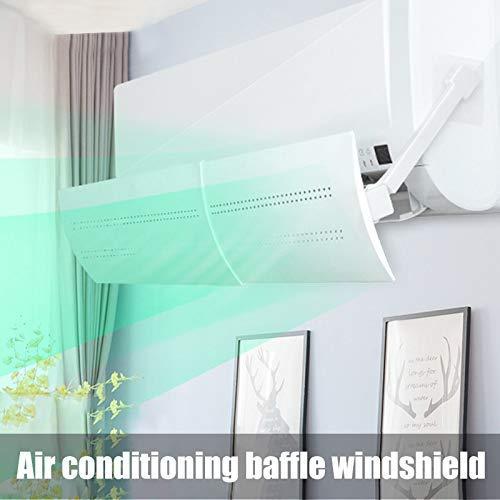 Arkone Rechthoekige airconditioning voorruit anti-direct blaren koud windscherm geluidswand telescoop airconditioning afleider