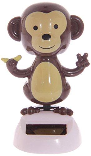 Puckator FF25 Solar-Powered Dancing Monkey Ornament 6.5 x 6 x 10cm