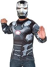 Rubie's Men's Captain America: Civil War Machine Long Sleeve Costume Top, Standard