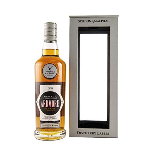 Ardmore - Distillery Labels - 1998 20 year old Whisky