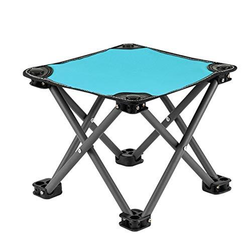 YXX-Silla Pesca Taburetes De Camping Plegables Resistentes para Adultos, Capacidad De 150 Kg - Al Aire Libre Mini Silla De Mochilero para Pesca, Barbacoa, Jardinería Y Playa