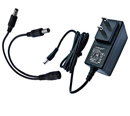 UpBright 12V AC/DC Adapter Compatible with Dogtra HK-S-120A030-US BC12V300/5.5 500 1000 1500 1700 7000 7100 200NCP 1900NCP 1902NCP 7000M 300M 7100H YS200 YS500 200NCP BC120 Dog Training Collar Charger