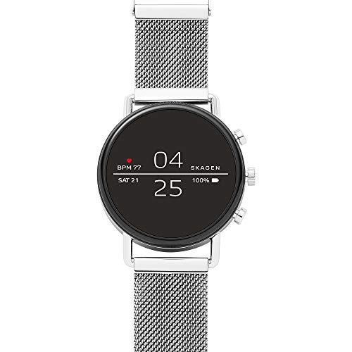 Skagen Smartwatch with Touchscreen, Wear OS by Google, Heart-Rate Tracking, Smartphone Notifications and More