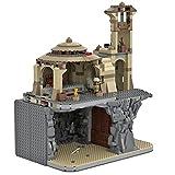 LALAmi MOC-54526 - Accesorio para modelismo de construcción (1581 piezas, modelo arquitectónico, bloques de construcción modulares, compatible con Lego 9516 75005)