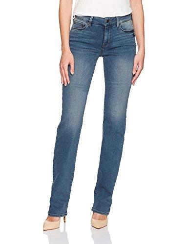 NYDJ Women's Long Inseam Marilyn Straight Leg Jeans, ferris, 12 L