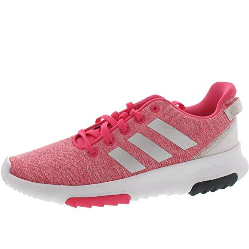 adidas Unisex-Kinder NEO Cloudfoam Racer Trail K Traillaufschuhe, Pink (Reapnk/Silvmt/Ftwwht 000), 35.5 EU