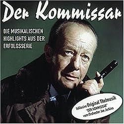 CD-Cover von Der Kommissar - Die musikalischen Highlights aus der Erfolgsserie inklusive der Original Titelmusik von Orchester Joe Jerkins