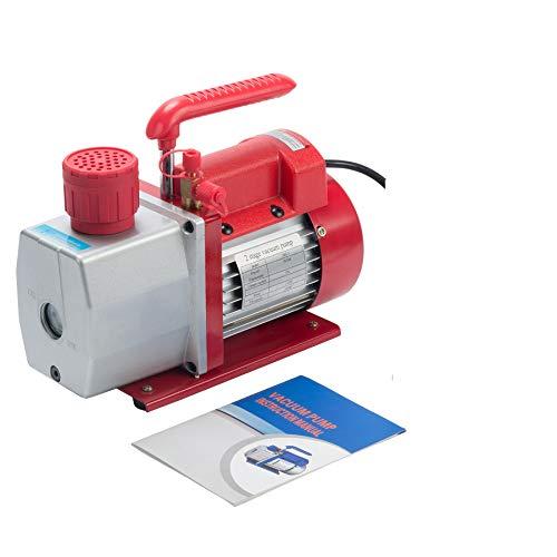 Orion Motor Tech 5CFM Bomba de Vacío Etapa Única 1 / 2HP Bomba de Vacio para Aire Acondicionado para HVAC/Auto AC Refrigerante Recarga, Médico, Procesamiento de Alimentos (5 CFM)