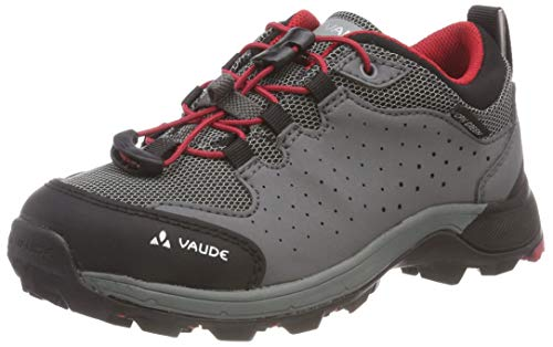 VAUDE Kinder Kids Lapita Low CPX Trekking- & Wanderhalbschuhe, Indian red, 37 EU
