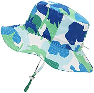 Kids Toddler Baby Summer Bucket Sun Hat Breathable...