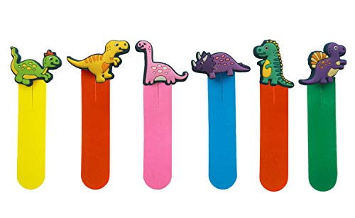 Magnetic Bookmarks Page Markers Colorful Set 6 Pcs