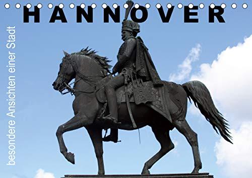 Hannover - besondere Ansichten einer Stadt (Tischkalender 2021 DIN A5 quer)