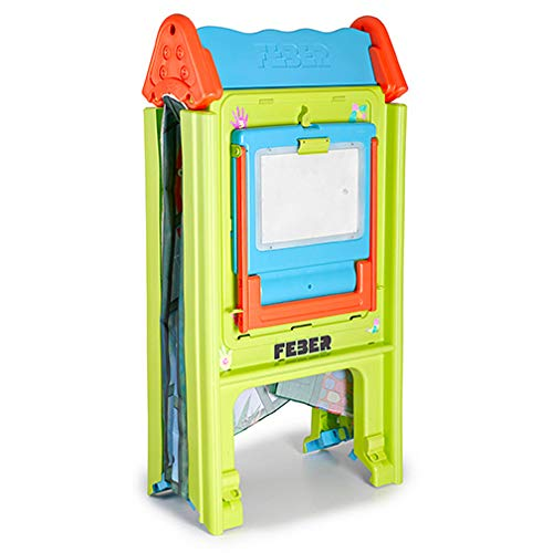 ECR4Kids Deluxe Dry-Erase Art Easel with Light-Up Tracing Desk for Kids, Bonus Playhouse Tent, Foldable for Easy Storage, Indoor or Outdoor Toy