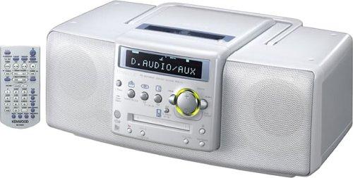 ケンウッド CD・MD・ラジオパーソナルステレオシステム (ホワイト) MDX-L1-W