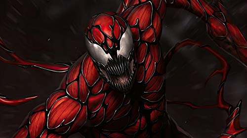 Venom - Puzzle de 500 piezas, diseño de dibujos animados con perros, 50 x 70 cm