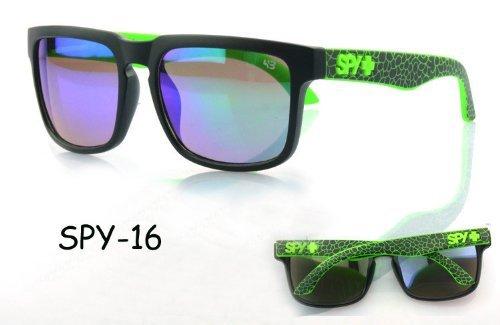 Men's Womens Spy Helm Eyewear Retro Personalized Sunglasses Spy 1-16 by Spy