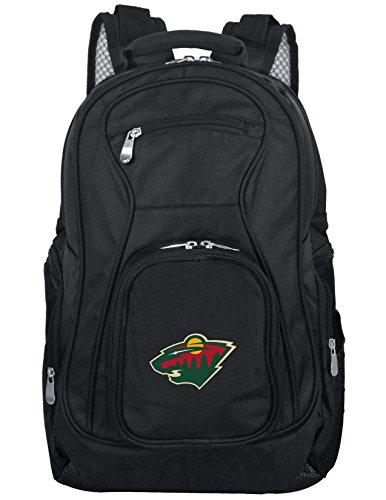 Denco NHL - Mochila para portátil de 19', color negro, Unisex, NHWIL704, negro, 48,26 cm